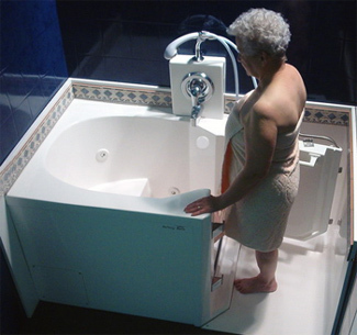 The Walk-In Tub .. Brrr